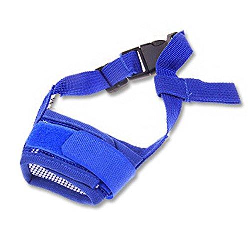 UxradG Pet Hund Mund, Hund, bissfest, Bellen, Nylon Mesh Verstellbar Mund Cover Schnauzen Mundschutz Atmungsaktiv Maske - 5