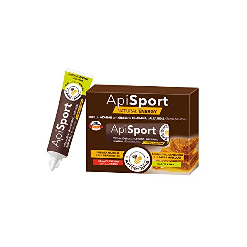 Caja ApiSport sabor Lima, 6 tubos