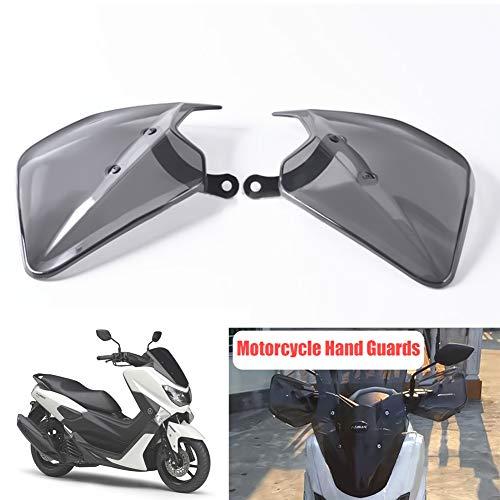 Motorrad Handschutz, Auzkong Bremse Kupplung Handguards ABS Handschutzschild für YAMAHA NMAX 125/150 / 155 (2015-2018), XMAX 250/300 / 400 (2017-2018), NVX 155 / Aerox 155 (2017-2018) 1 Paar
