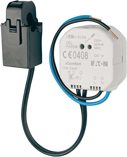 Eaton xComfort Funk Energiemesssensor mit externem Sensor, CEMU-01/03 (136476)