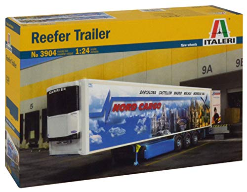 Italeri 3904 - Reefer Trailer (New Rims And Decal) Model Kit Scala 1:24