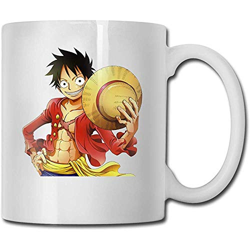 Cups One Piece Anime Kaffeebecher Tumbler Cups Simple White