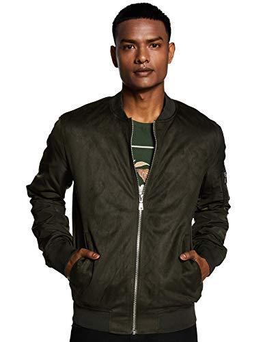 Celio Men's Jacket (3596655038231_Kaki_XL)