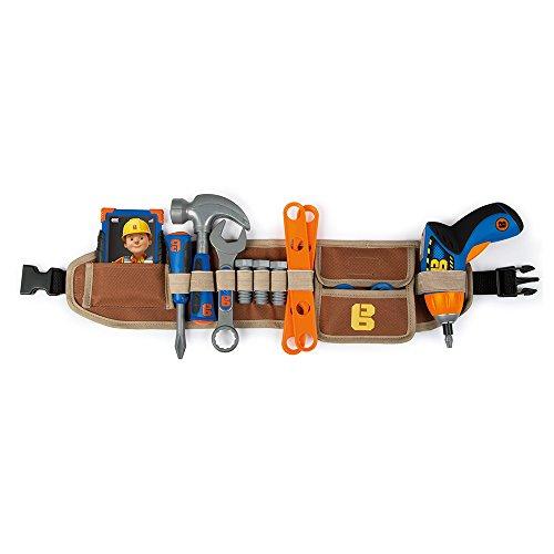 Cinturón de herramientas con atornilladora electrónica de Bob el Constructor (Smoby 360152)