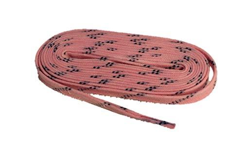 Schnürsenkel farbig HTX3 Eishockey gewachst Pro line (Light pink, 274)