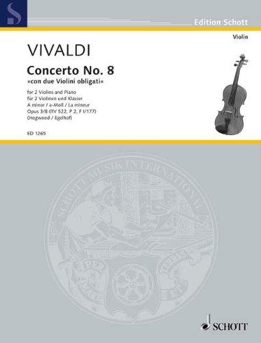 Concerto Grosso a-Moll Op 3/8 Rv 522 F 1/177. Violine, Klavier