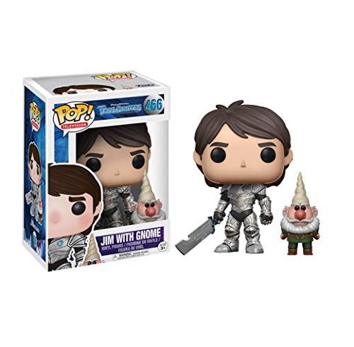 Third Party - Figurine Trollhunters - Jim Armure Et Gnome Pop Chase 10cm - 3700936111654