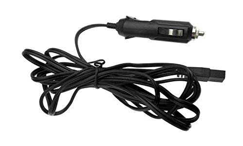 Yulenww 12 V Auto-Kabel, für kleinen Kühlschrank, Kühlbox, Zigarettenanzünder-Anschlusskabel, 2,5 m lang, 10 A Sicherung