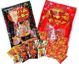 ミミガージャーキー パーティーパック 小袋10袋入り & オキハムジャーキーバラエティーパック 5種類×各2袋入りパックのセット×5セット オキハム 沖縄土産におすすめの珍味バラエティパック