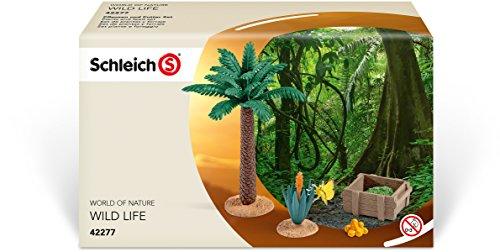 SCHLEICH 42277 42277-Pflanzen und Futter Set