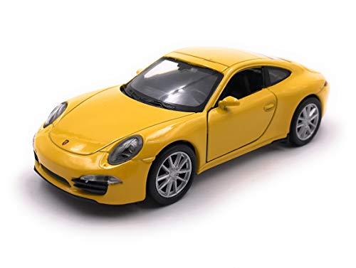 Onlineworld2013 Modellauto 911 Carrera S Zufällige Farbe! Auto Maßstab 1:34-39 (lizensiert)