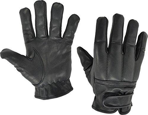 normani Qualitätshandschuhe aus Rindsleder Security Quarzsandhandschuhe Farbe Schwarz Größe XL