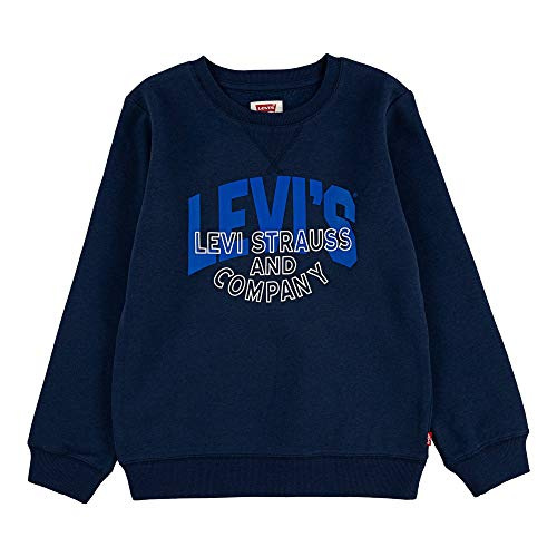 Levi's Kids Lvb Strauss And Co Crewneck Sweater Garçon Bleu 14 ans