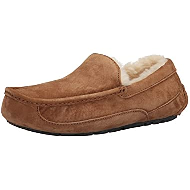 UGG Australia Men's Ascot Slippers, 11, Chestnut