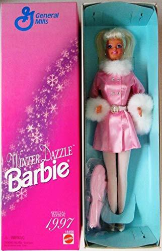 General Mills Barbie Winter Dazzle Barbie Doll (1997