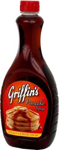 Griffin's  Pancake Syrup Regular, 2er Pack (2 x 709 ml)