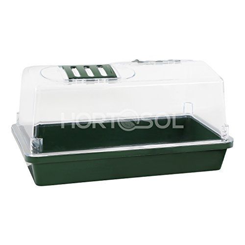 HORTOSOL XS Mini serra 31x17,5x17,5 cm plastica rigida