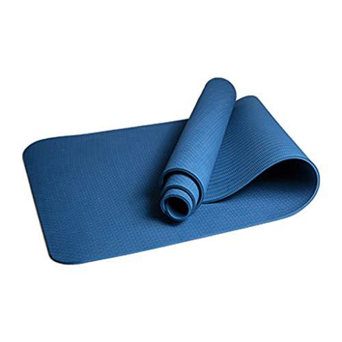 Vobery Colchoneta de Yoga,Tipo Colchoneta de Entrenamiento Antideslizante(Libre de Contaminantes)Para Fitness,Deporte,Pilates Y Gimnasia Incluye Correa Para El Hombro(Yoga)-