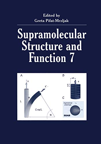 Supramolecular Structure and Function 7 (English Edition)