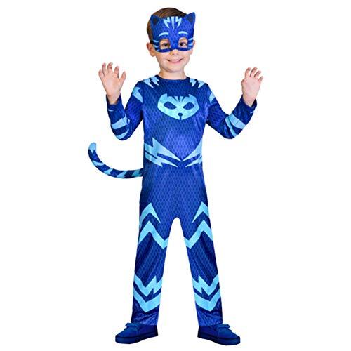 Amscan PJMASQUES YOYO-Catboy Deguisement, 9902953, Bleu FR: