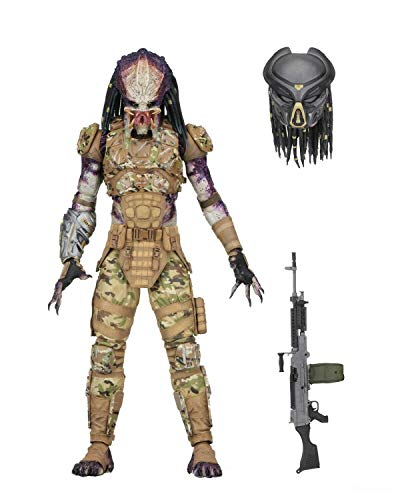 NECA Predator 2018 Deluxe - Figura de acción de acción (17 cm)