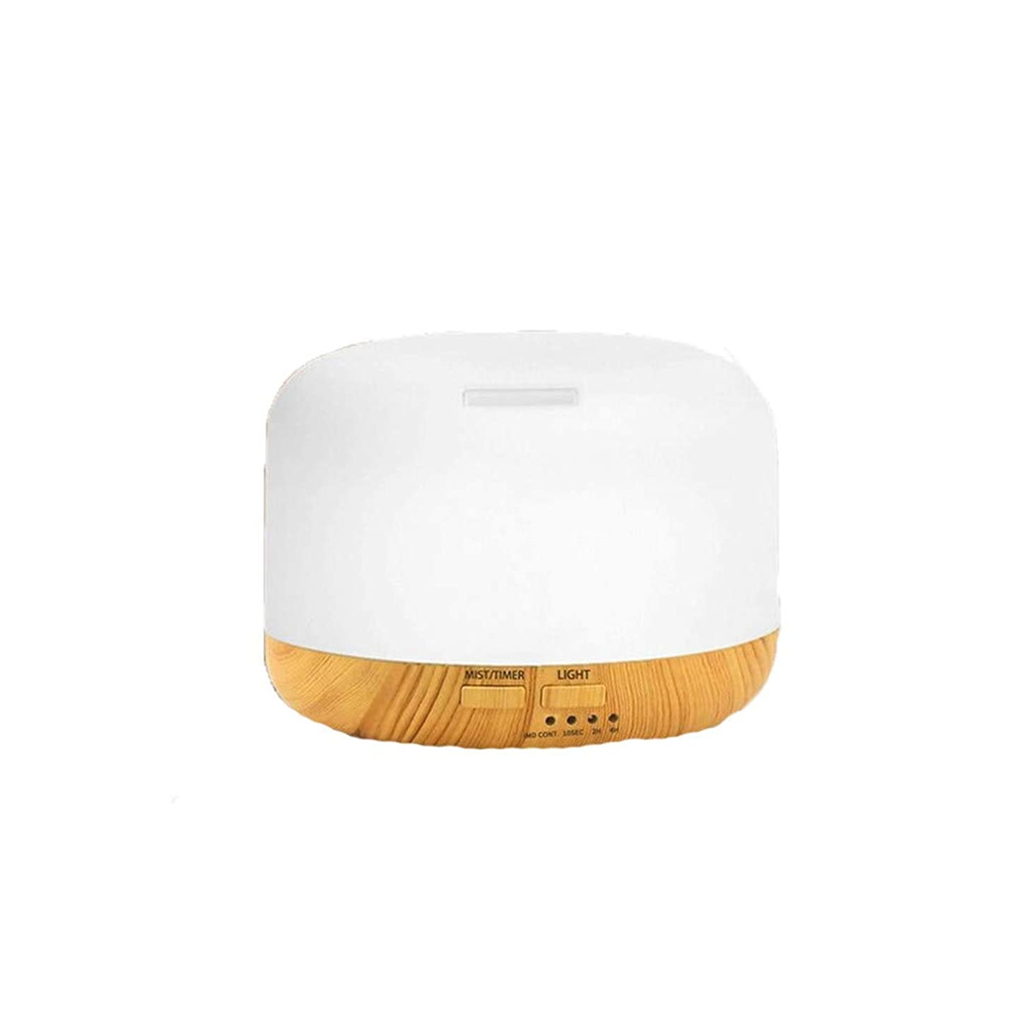 Huaa Essential Oil Diffuser, 2019 Mini Humidifier Night Light Air Diffuser Purifier 7 Colors Led Atomizer 300Ml