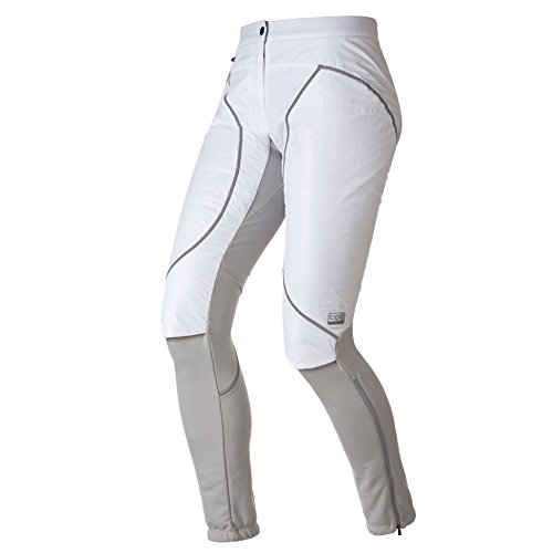Odlo Vancouver Primaloft Pantalon pour Femme L Blanc - High Rise.
