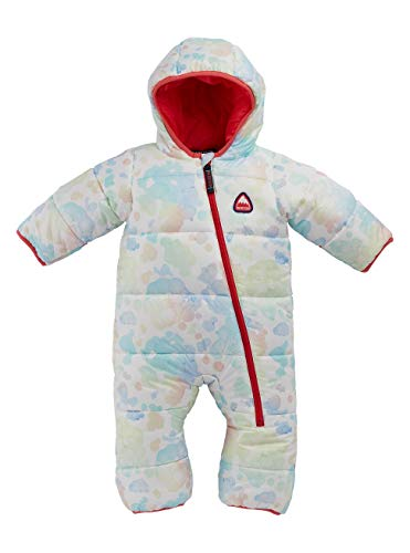 Burton Kinder Buddy Bunting Snowboard Overall, Bubbles, 3M