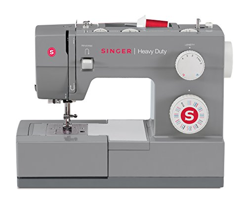 SINGER | Heavy Duty 4432 Sewing Machine with 32 Built-in Stitches, Automatic Needle Threader, Metal...