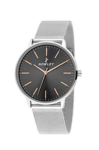 Reloj NOWLEY Hombre Pulsera Malla MILANESA