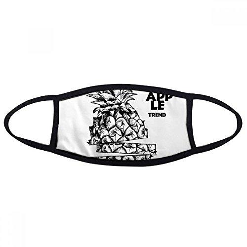 DIYthinker Pineapple Trend Fruit Line Tekening Gezicht Anti-stof Masker Anti Koud Maske Gift