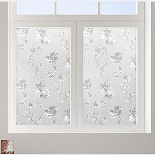 Pellicola per vetri smerigliata elettrostatica opaca, adesivo in vetro per la protezione della privacy, utilizzato per porte e finestre dell'ufficio domestico G 60x300 cm