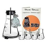 Periodic Tableware Laboratory Flask Cocktail Shaker Set