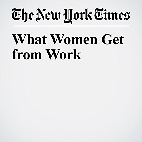 What Women Get from Work copertina