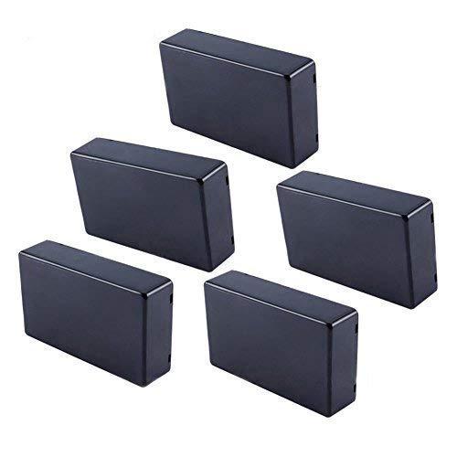 Cosiki 𝐖𝐞𝐢𝐡𝐧𝐚𝐜𝐡𝐭𝐬𝐠𝐞𝐬𝐜𝐡𝐞𝐧𝐤 5 Stücke 100x60x25mm Kunststoffgehäuse mit Deckel, Kunststoffabdeckung Projekt Elektronische Gehäuse Instrumentenkoffer DIY Power Junction Box