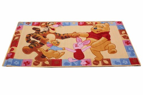 Disney Kinderteppich Winnie Friends 140 x 80 cm
