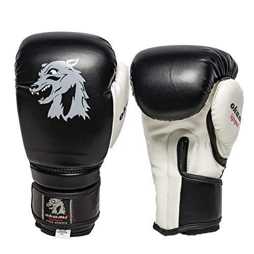 Okami Boxhandschuhe DX Boxing Gloves 2.0 Puppies 6oz - Für Kinder 5-8 Jahre - Handschuhe für Boxen MMA Kickboxen Sparring Muay Thaiboxen Kampfsport Training für Kinder Kids