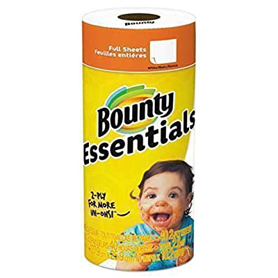 Bounty Essentials Paper Towel, White 30 per Carton