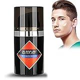 Crema BB para Hombre, Corrector + Maquillaje + Rosa + Aislamiento, Transparente y Sin Defectos, Maquillaje Natural Desnudo(#2)