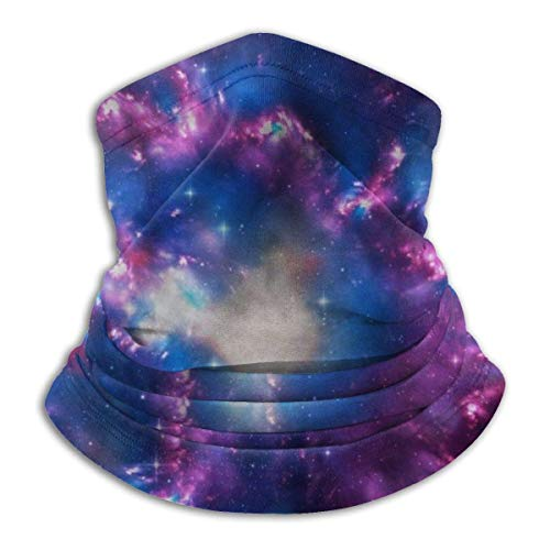 senob Univers Star Cluster Outer Space Headwear Neck Guêtre Warmer Winter Ski Tube Scarf Mask Fleece Face Cover Windproof Customized