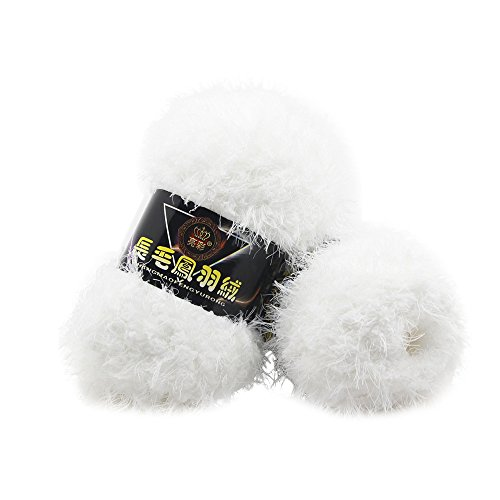 sunnymi 50g 3mm DIY Wolle Super Soft Baby Bambus Cotton Wool Häkeln Hand Stricken Kaschmir Garn Milch Baumwolle Geschenk Garn Strick Wolle Pullover Hüte Schals Decke (A, 3mm)