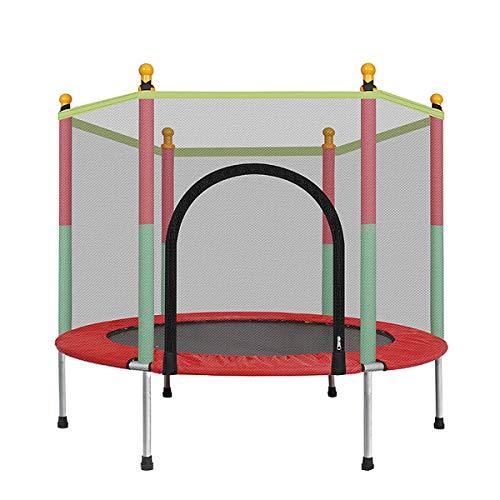 Trampoline met veiligheidsnet - 2020 Trampolines voor kinderen - Maximaal gewicht: 100 kg - Fitness-trampoline, trampoline voor binnen en in de tuin, ideaal voor kinderen en volwassenen