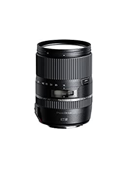 Tamron 16-300mm F/3.5-6.3 Di-II VC PZD All-In-One Zoom Lens for Canon APS-C Digital SLR Cameras  6 Year Limited USA Warranty