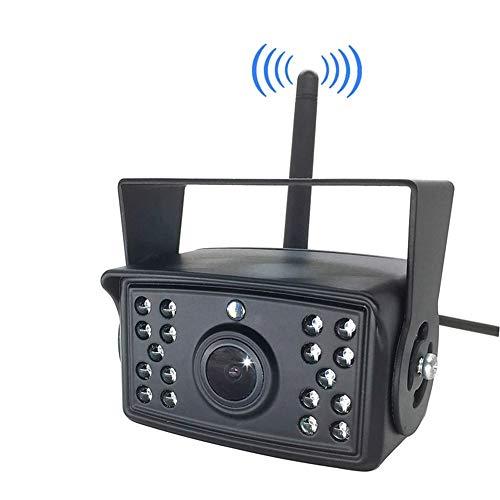 CARACHOME Camara Marcha atras inalambrica 24 V, cámara Impermeable de visión Nocturna...