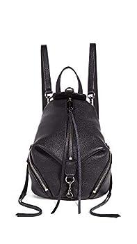 Rebecca Minkoff Women s Convertible Mini Julian Backpack Black One Size