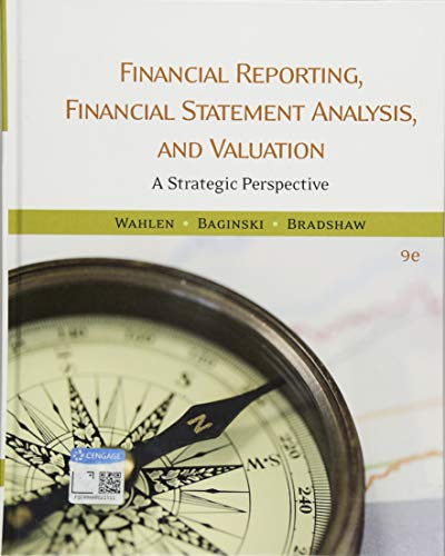Download Financial Reporting, Financial Statement Analysis, and Valuation: A Strategic Perspective 1337614688