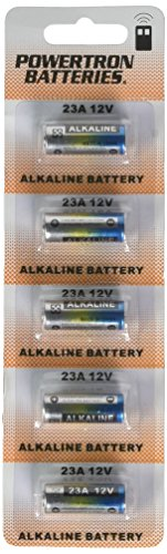 Powertron 23A 12V Alkaline Battery (5 Pack)