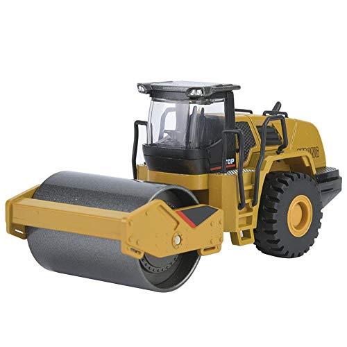 VGEBY1 Bruder Straßenwalze, Walze Fahrzeuge 1:50 Legierung Modellbau Radlader Spielzeugbau BAU Auto Fahrzeug