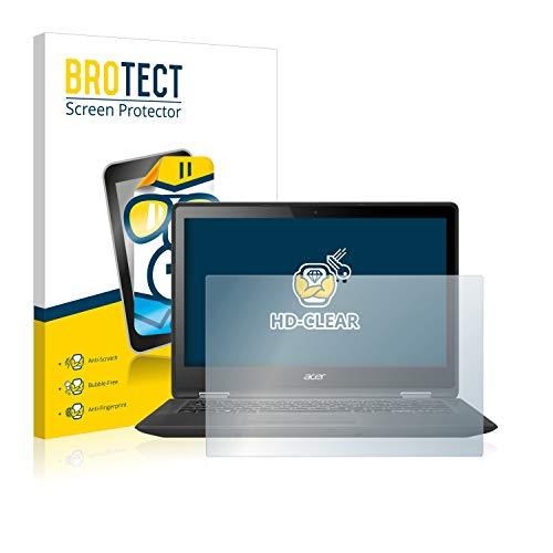 BROTECT Schutzfolie kompatibel mit Acer Spin 5 2017 klare Bildschirmschutz-Folie
