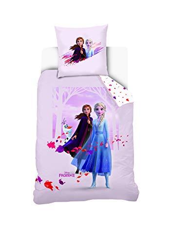 Disney ijskoningin 2 beddengoed 140 x 200 cm 1 pers, sering, 140 x 200 + 63 x 63 cm
